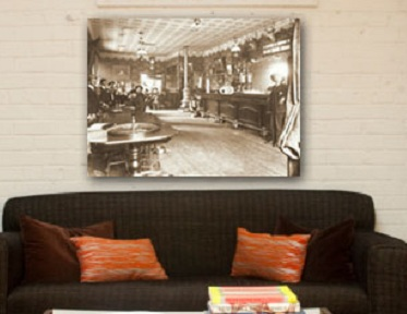 Gallery Wrapped Historic Images - Colorado