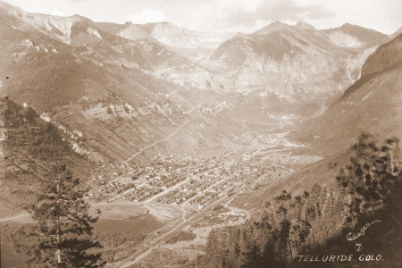 Historic Telluride in Summer - Telluride, Colorado Historic Photos