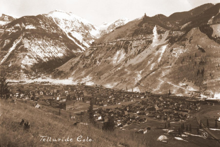 Telluride, Colorado Historic Photos