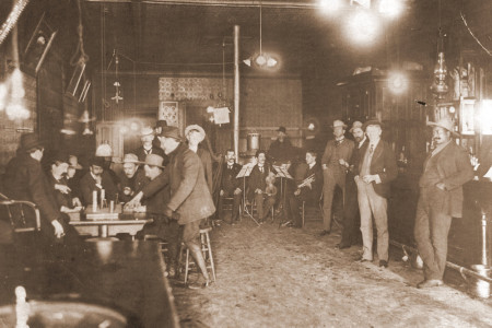 The Pick and Gad Bar - Telluride - Colorado Historic Photos