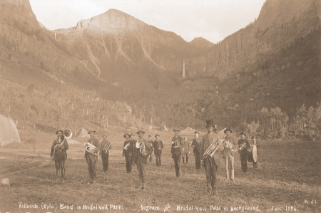Telluride Band in Bridal Veil Park